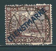 Saar MiNr. D 4 Vollstempel   (0153) - 1920-35 Société Des Nations