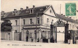 2753 Cpa 18 Bourges - L'Ecole De Pyrotechnie - Bourges