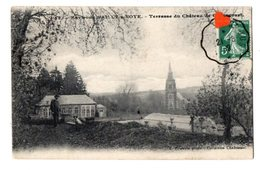 02171-LE-80-Environ D'AILLY-s-NOYE-Terrasse Du Château De Guyencourt - Ailly Sur Noye