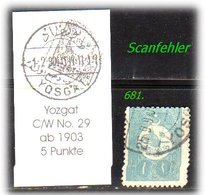 EARLY OTTOMAN SPECIALIZED FOR SPECIALIST, SEE....Stempel - YOZGAT - 1858-1921 Empire Ottoman