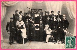 Exécution Du Père Cent - Cardinal - Prêtre - Militaire - Guillotine - Epée - Animée - Phototypie J. BRENAIME - 1910 - Autres