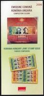 Romania 2006 / Famous Composers, Romania - Hungary Joint Stamp Issue / Prospectus, Leaflet, Brochure - 1948-.... Républiques