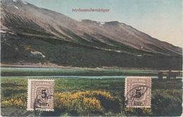 AK Pordarstadarskogur Iceland Island Islande A Reykjavik Stamp Timbre Briefmarke Stimpill Skandinavien Scandinavia - Island