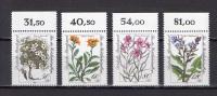 Germany 1983 Flowers Set Of 4 MNH - Végétaux
