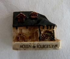 FEVE MOULIN A HUILE MH MOULIN DE FOURGES XVIe 2001 - Histoire