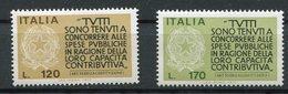 Italia - 1977 - Fedeltà Contributiva ** - 1946-.. République