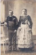 Costumes Bretons - Couple - Carte-Photo - Bretagne