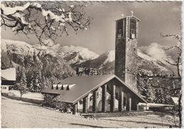Haute  Savoie :  ASSY : L  église  , Vue D Hiver - Autres Communes