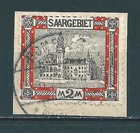 Saar MiNr. 65 Vollstempel   (0153) - 1920-35 Société Des Nations