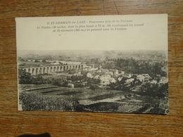 Sainy-germain-en-laye , Panorama Pris De La Terrasse , Le Viaduc , Conduisant Au Tunnel De St-germain - St. Germain En Laye