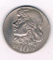 10 ZLOTY 1970  POLEN /3548/ - Pologne
