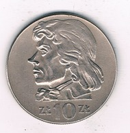10 ZLOTY 1971  POLEN /3549/ - Pologne