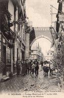 2759 Cpa 18 Bourges - Cortège Historique Du 1er Juillet 1923, Porte De La Rue Mirebeau - Bourges