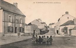 44 St Saint Herblain Le Bourg Cpa Carte Animée - Saint Herblain