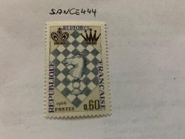France Chess Festival 1966 Mnh - France