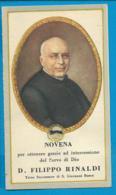 Relic   Reliquia   St. Philippo Rinaldi - Santini