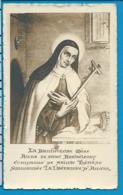 Relic   Reliquia   St. Anna V. St. Batholomeus - Devotieprenten