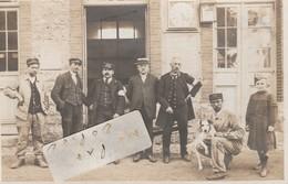 AVIZE - Intérieur De La Gare En 1916  ( Carte-photo ) - France