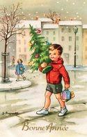 CP.. Illustrateur Lagarde.   Bonne Année. Enfants - Nouvel An