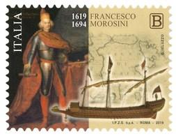 Italia Repubblica 2019 Francesco Morosini Euro 1,10 MNH** Integro - 1946-.. République