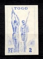 Togo Essai De Couleur Non Dentelé Neuf ** MNH. TB. A Saisir! - Togo (1914-1960)