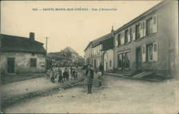 57 SAINTE MARIE AUX CHENES / Rue D'Amanviller - Carte Animée / - Autres Communes