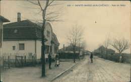 57 SAINTE MARIE AUX CHENES / Rue De Metz / - Autres Communes