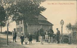 57 SAINTE MARIE AUX CHENES /Entre Saint Ail Et Sainte Marie Aux Chênes - Belle Carte Animée / - Autres Communes