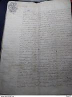 Acte Notaire 1770 , Avec Caché 20S Et 40S , 11 Pages - Luxembourg