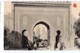 02175-LE-MAROC-FES-Porte Bou-Jeloud----------------animée - Fez (Fès)