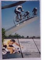 CPSM - GER - Cyclisme Mémorial Du Sculpteur J B Metais - E Merckx - Cycling