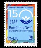 Italia Repubblica 2019 Ospedale Pediatrico Bambino Gesù Euro 1,10 MNH** Integro - 2011-...: Ungebraucht