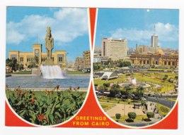 AK88 Greetings From Cairo - 2 Views - Cairo