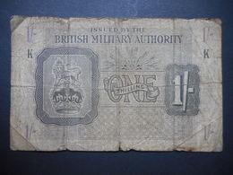 United Kingdom 1 Shilling 1943 - Autorità Militare Britannica