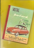 """Notice Technique 1964 """"PANHARD Dyna Et PL 17"""" 116 Pages + Couverture Format 15 X 21 Cm Env. - Voitures"""