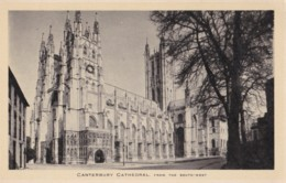 AN94 Canterbury Cathedral From The South West - Canterbury
