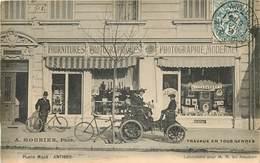 "ANTIBES  Place Macé Devanture Du Magasin ""  Photographe Moderne ""  A.MOUNIER - Antibes - Vieille Ville"