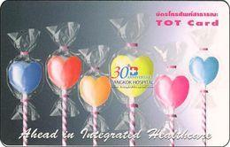 Thailand Phonecard TOT Nr.273 Ahead In Integrated Healtheare - Thaïland