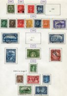12529 CANADA  N° 156, 157, 158/9, 161/7, 168, 169, 170, 171, 172, 173/8 °/ *  1931-35    B/TB - Used Stamps