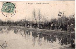 2776 Cpa 18 Bourges - Pêcheurs à Robinson - Bourges