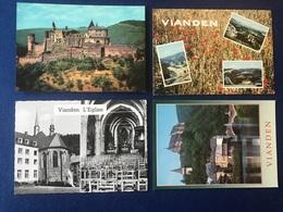 Luxembourg - Vianden - Lot De 4 Cartes - Konvolut 4 Karten - Vianden