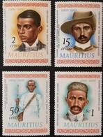 MAURITIUS 1969 Mohandas K. Gandhi LOT - Mauritius (1968-...)
