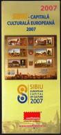 Romania 2007 / Sibiu, European Capital Of Culture / Prospectus, Leaflet, Brochure - 1948-.... Républiques