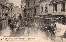 2778 Cpa 18 Bourges - Cortège Historique Du 1er Juillet 1923 - Bourges