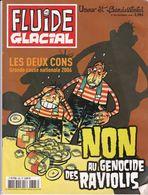 FLUIDE GLACIAL , Non Au Génocide Des Raviolis , N° 363 - Livres, BD, Revues