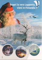 Citrus 995 Airport Aerei Lapponia Finnair Avion Aviation Airbus 320? Aiplane Finlandia Santa Claus Dog - 1946-....: Era Moderna