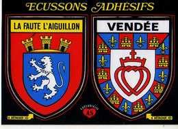 85 Ecussons Adhesifs LA FAUTE L'AIGUILLON Vendee - France