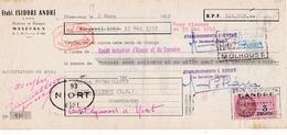 68-I.André..Filatures & Tissages....Masevaux..(Haut-Rhin)..1952 - Petits Métiers