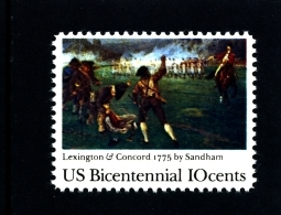 UNITED STATES/USA - 1975  LEXINGTON-CONCORD  MINT NH - Stati Uniti