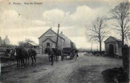 Belgique - Anhée - Denée - Rue De Dinant - Ecole Gardienne - Edit Laflotte N° 9 - Anhée